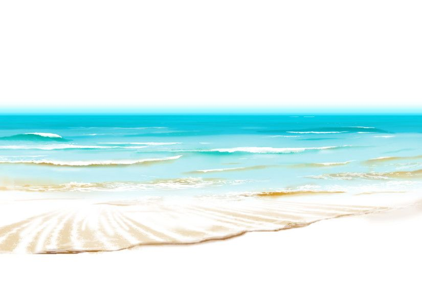 picture freeuse Ocean clipart background. Sea beach ground png