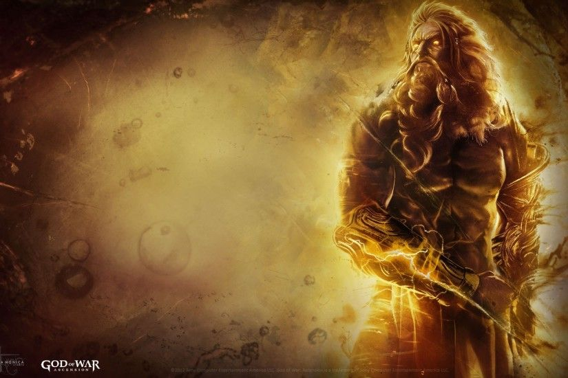 God Of War 3 Wallpaper Hd Zeus Gallery