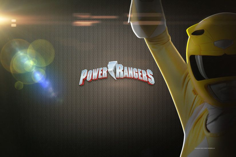 1920x1200 Mighty Morphin Power Rangers Yellow Desktop Wallpaper