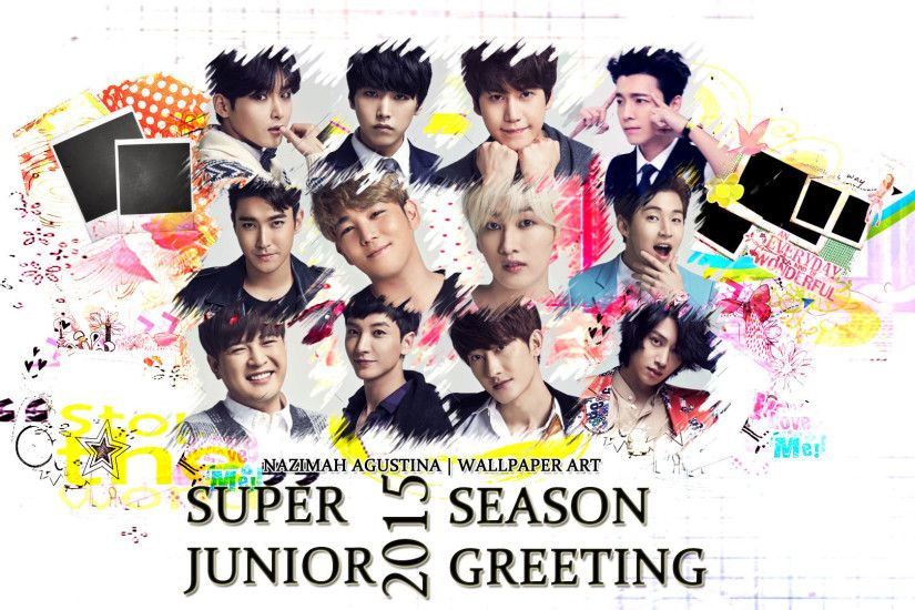 1920x1080 ... super junior 2015 season greeting cute suju sj wallpaper by  nazimah agustina