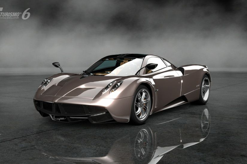 Cars Gran Turismo 6 Pagani Huayra Video Games