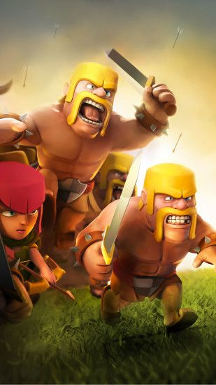 clash of clans wallpaper iphone 7