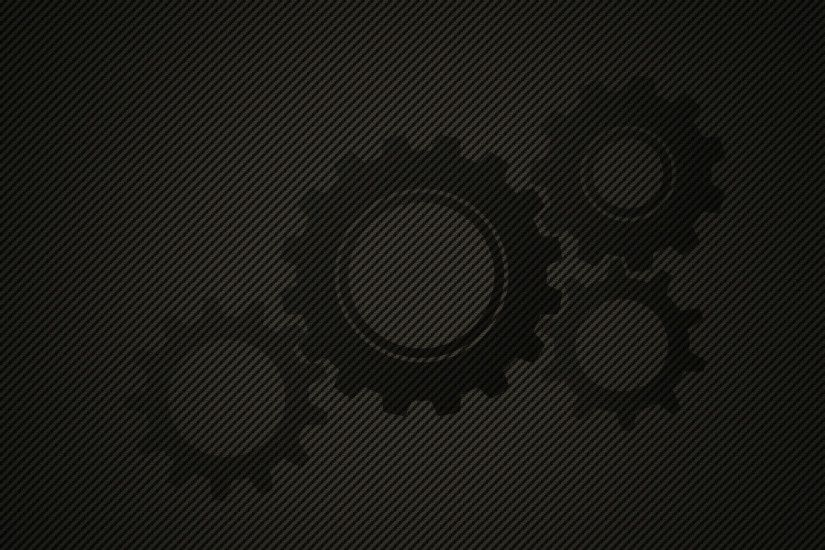 Click to download the Carbon Fibre Gears Wallpaper in 1920X1200, 1680X1050  ...