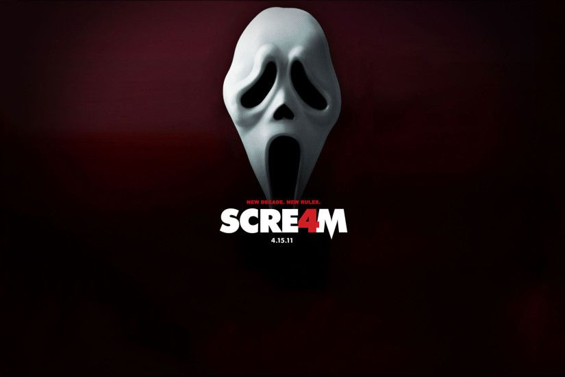 "You are viewing wallpaper titled ""Scream 4 ..."