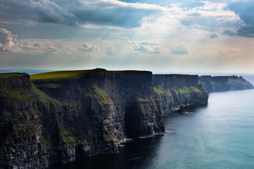 moher, ireland, wallpaper, scenic, cliffs, wallpapers, popular .