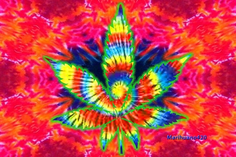 Trippy Weed Backgrounds