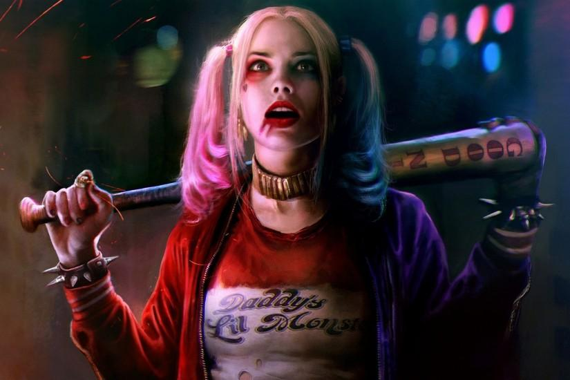 Margot Robbie Harley Quinn Suicide Squad Wallpapers