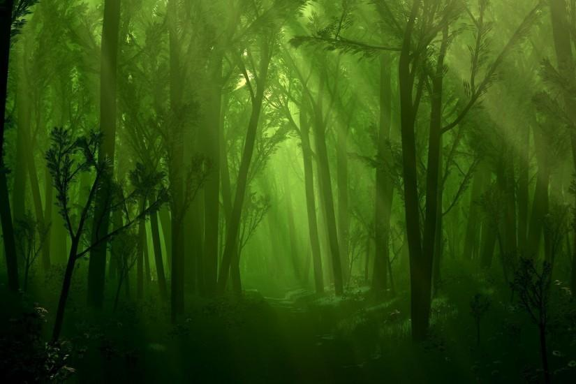 Hd Fantasy Forest Wallpaper 16527 Hd Wallpapers in Nature - Telusers.