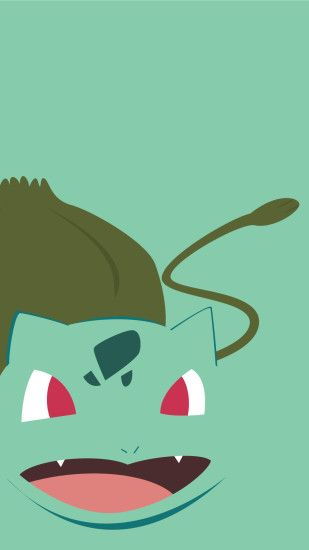 minimalistic-pokemon-go-bulbasaur-mobile-wallpaper-wp2008054