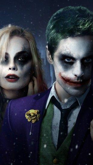 2160x3840 Wallpaper Suicide Squad 2016 Jared Leto Margot Robbie