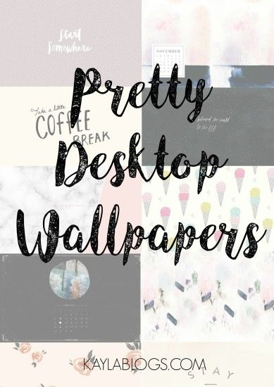 Fav Websites for Pretty Desktop Wallpapers
