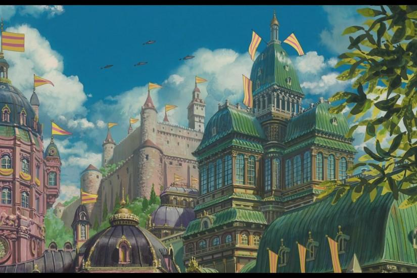 full size howls moving castle wallpaper 1920x1080 720p