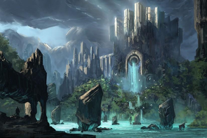 Fantasy World Ipad Wallpaper: Dark Fantasy Wallpaper ·① Download Free Cool Wallpapers