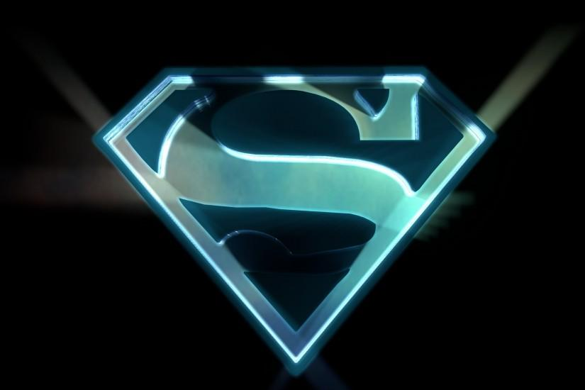 Superman Logo Wallpaper | Superhero Wallpapers