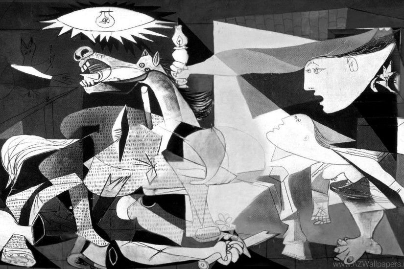 Pablo Picasso Guernica Desktop Background