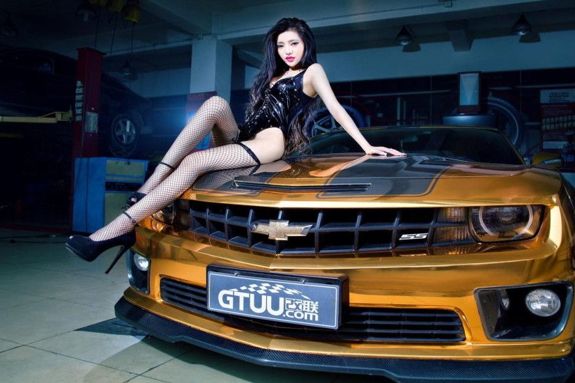 Sexy Cars and Girls Wallpaper and Pictures (28)