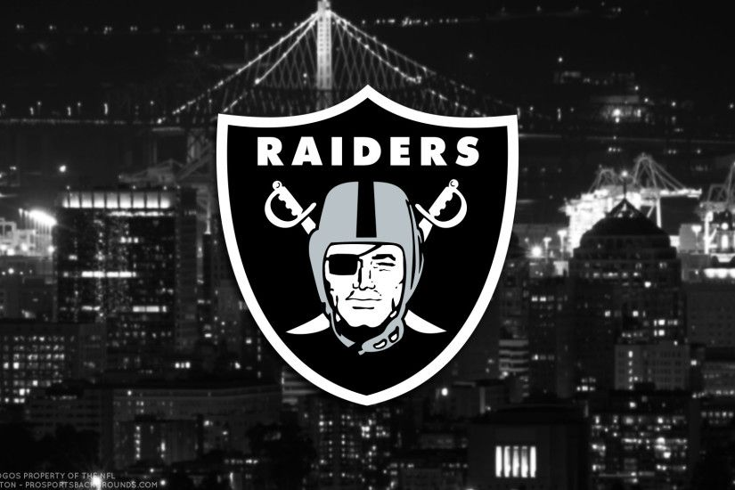 ... Oakland Raiders 2017 football logo wallpaper pc desktop computer