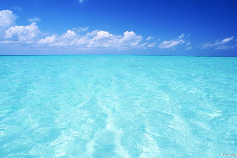 wallpaper, nature, clear, sky, water, blue, background