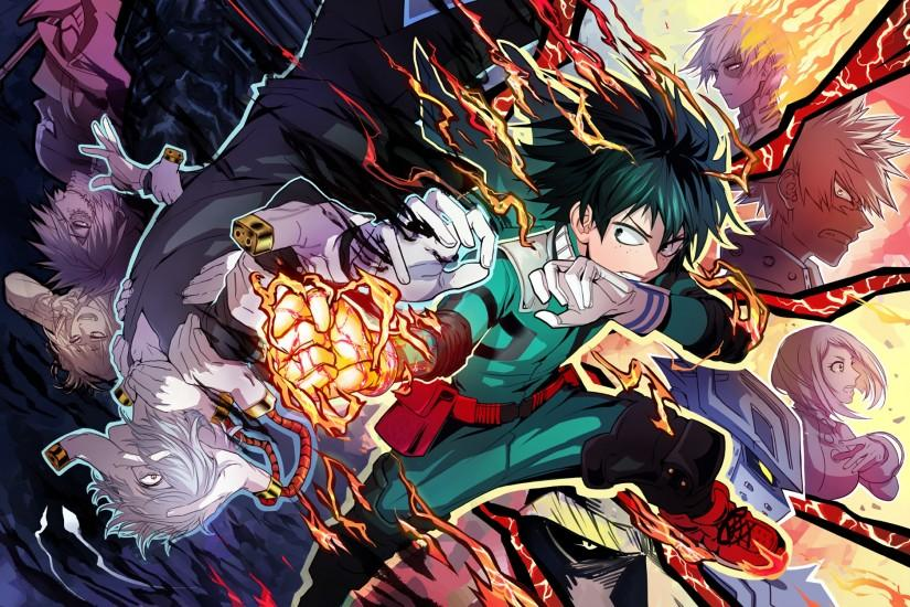 600 Boku No Hero Academia HD Wallpapers | Backgrounds - Wallpaper Abyss