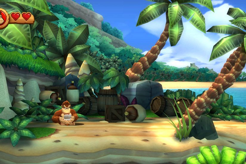 Donkey Kong Country Returns HD Wallpaper | Hintergrund | 1920x1080 |  ID:335880 - Wallpaper Abyss