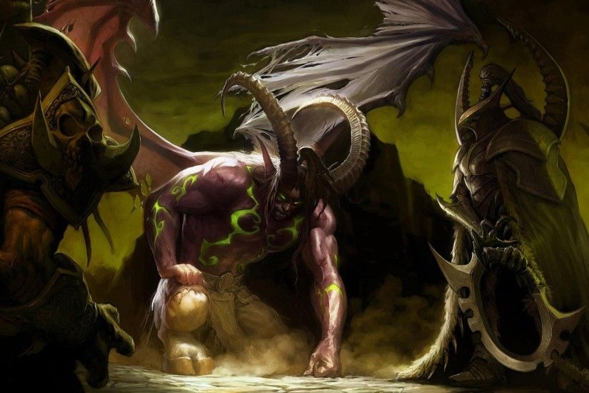 Illidan Stormrage HD Wide Wallpaper for Widescreen (85 Wallpapers)