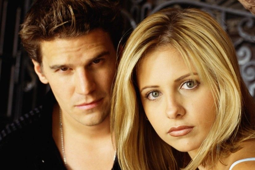 buffy the vampire slayer buffy vampire slayer tv series angel buffy sarah  michelle gellar david boreanaz