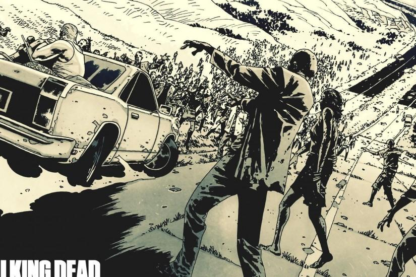 Papel de Parede The Walking Dead - Comics
