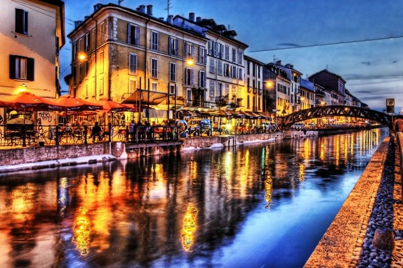 HDR canal on Venice Italy