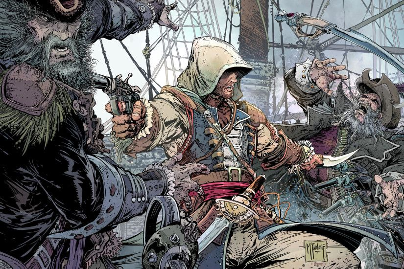 ... battle, assassin, saber, weapons, Ubisoft Montreal, Ubisoft  Entertainment, poster, Assassin's Creed 4: Black Flag, Assassin's Creed 4: Black  Flag, ...