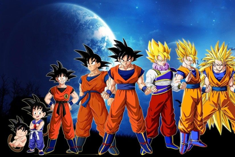 Dragon Ball Z Goku Story Wallpaper For Iphone | Cartoons Images