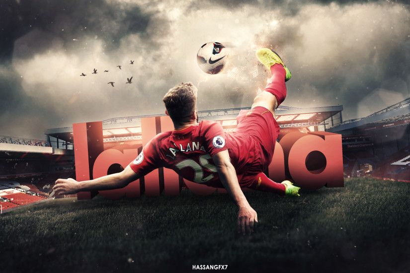 ... Adam Lallana Desktop Wallpaper - Liverpool by HassanGFX7