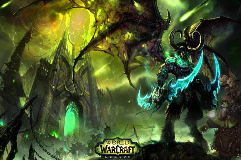WoW Legion - Illidan 1920x1080 wallpaper
