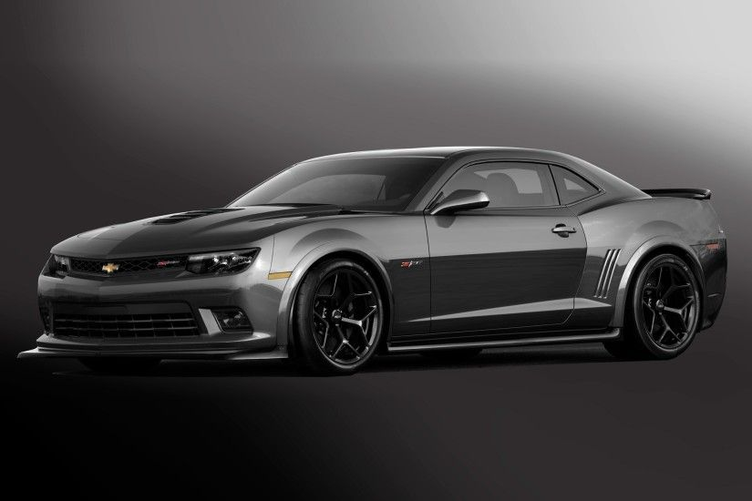 2015 Chevrolet Camaro Z28 Black Wallpaper