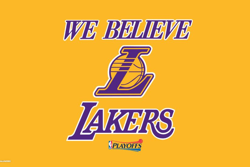 we believe lakers nba playoffs wallpaper 1080p