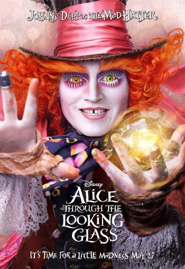 Through The Looking Glass Trailer and Live Chat With Johnny Depp  #DisneyAlice