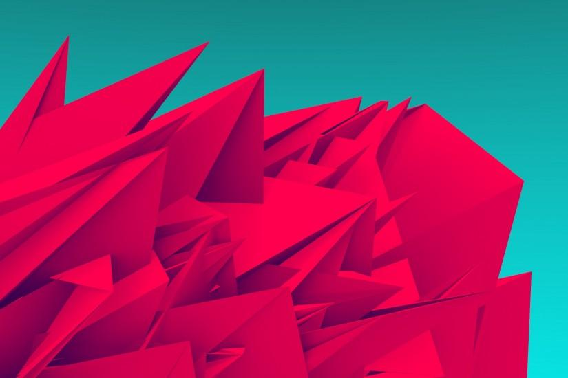 Android Wallpaper: Low Poly Art