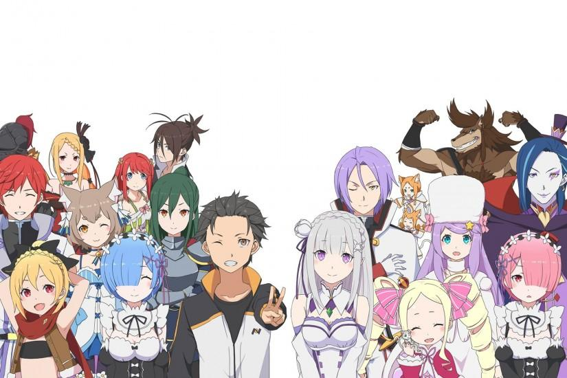 re zero wallpaper 1920x1200 lockscreen