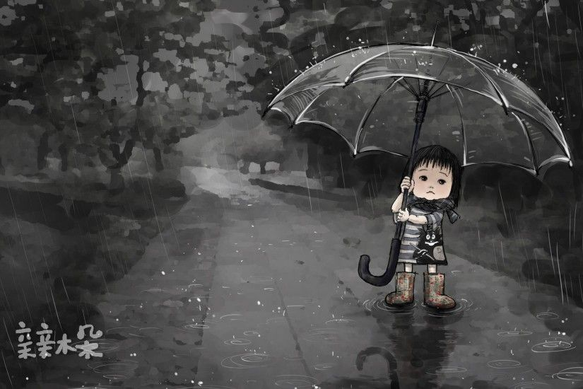 Cute Rain Hd Wallpapers