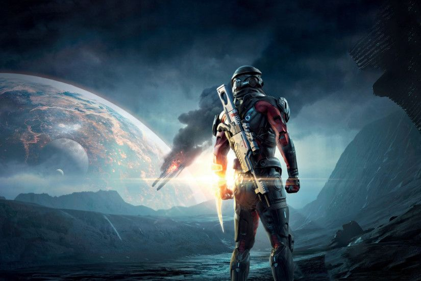 98 Mass Effect: Andromeda HD Wallpapers | Backgrounds - Wallpaper Abyss
