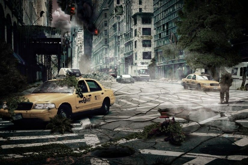 Download Wallpaper · Back. cityscapes end of the world ...
