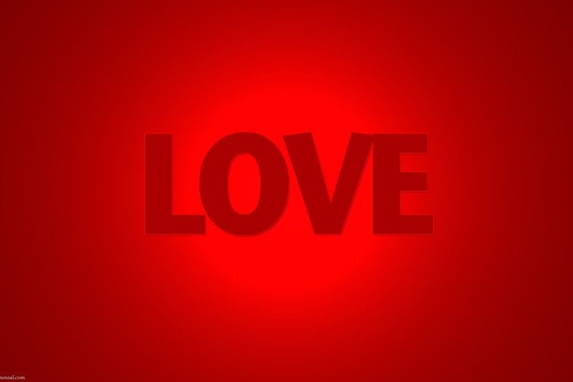 Download HD Love Word Red Colour Wallpapers for your Desktop Mobiles  Tablets in high quality HD