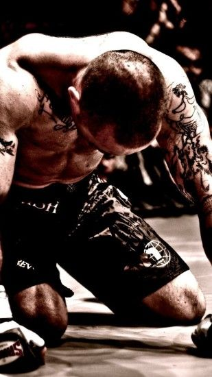 Preview wallpaper mma, mixed martial arts, fighter, fighter, tattoos  1440x2560