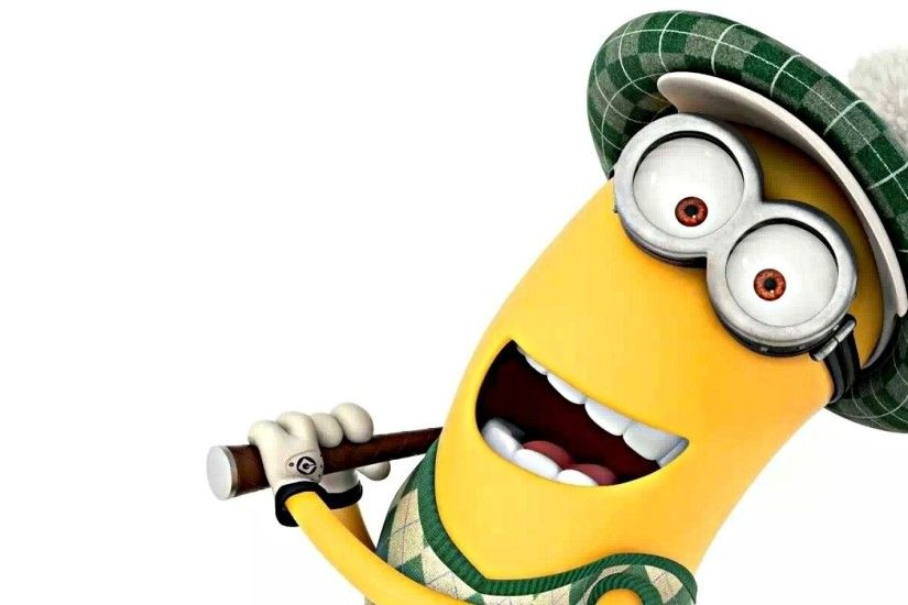 3840x1200 Wallpaper despicable me, minion, character