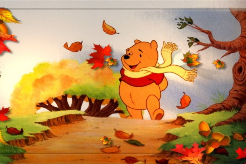 winnie the pooh thanksgiving wallpaper wallpapersafari