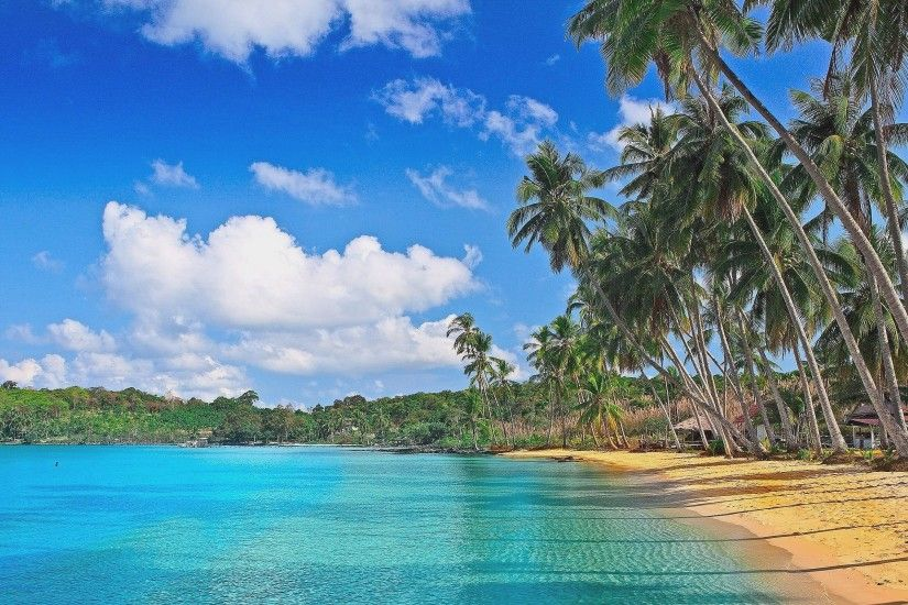Wallpapers For Tropical Beach Desktop Wallpaper · Download