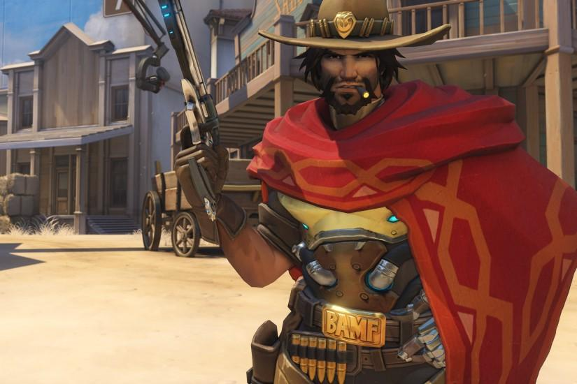 amazing mccree wallpaper 3840x2160