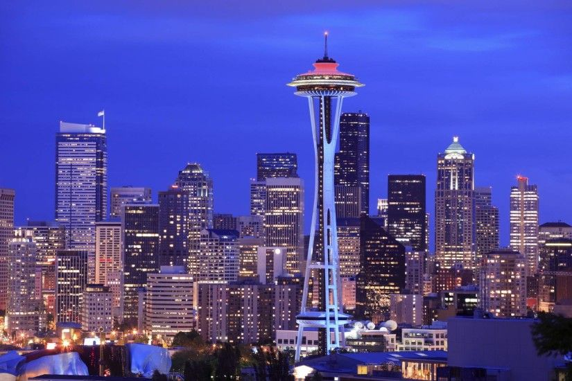 Download Seattle Skyline Wallpaper 21339 1920x1200 px High .