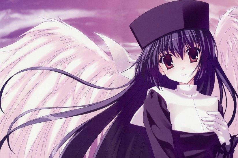 Anime Angel hd wallpaper