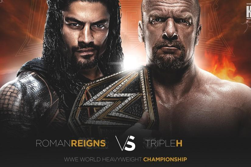 Roman Reigns WWE World Heavyweight Championship match WrestleMania 32  wallpaper 1920×1200 | 1920×1080 ...
