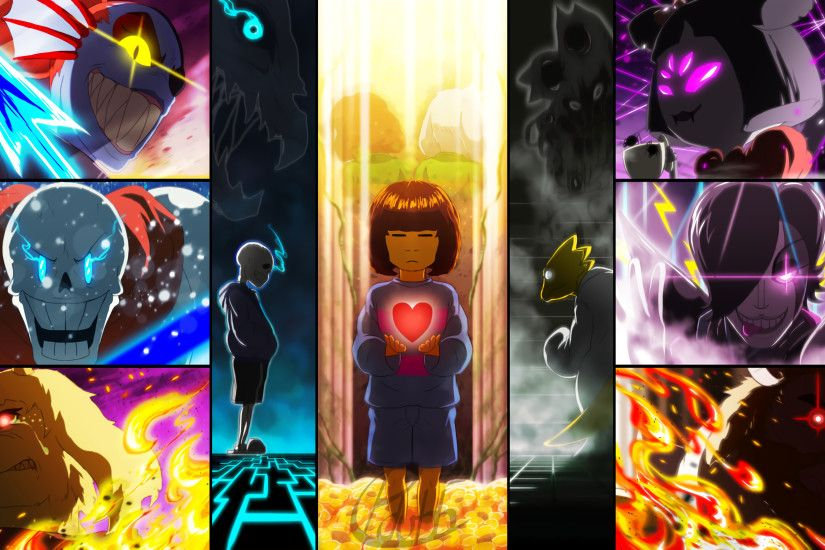 HD Wallpaper | Background ID:741286. 3200x1800 Video Game Undertale